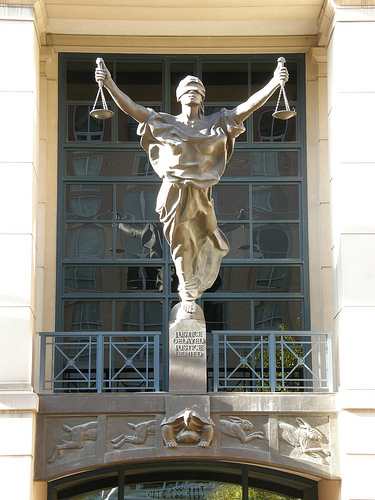 image of statue - Lady Justice