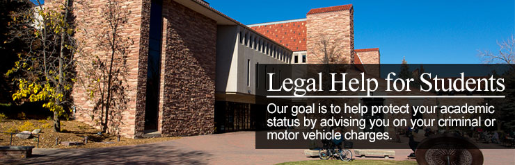 Boulder Student Legal Help - The Clark Law Firm